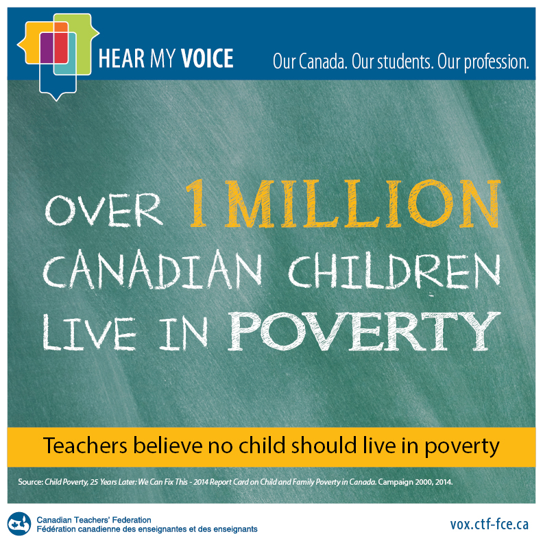 Over 1 Million Canadian Children Live in Poverty