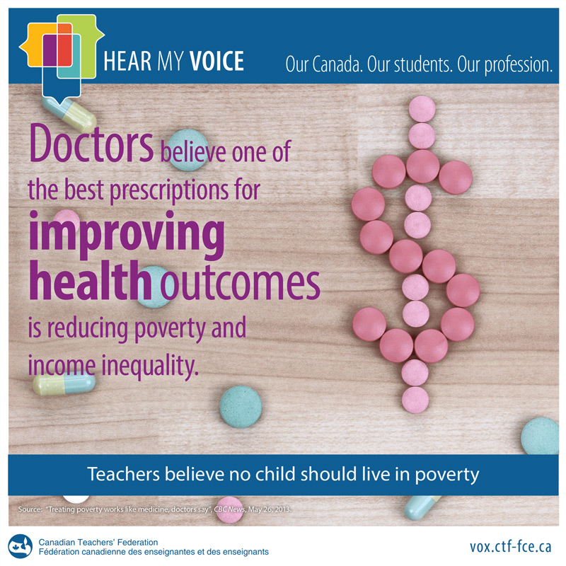Doctors believe one of the best prescriptions for improving health outcomes is reducing poverty